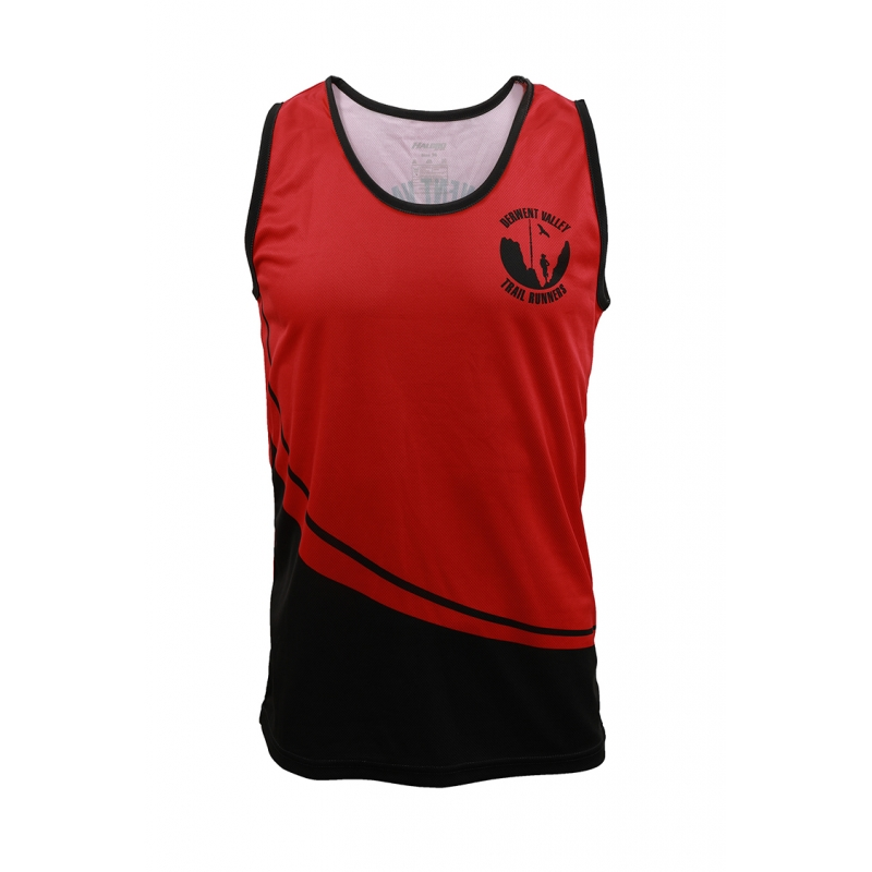 "Derwent Valley Trail Runners Club Vest Chest 32"" to 36"""